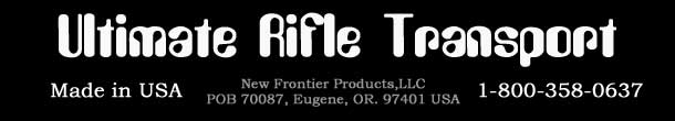 rifle holsters made buy gunslinger are 100 percent satisfaction guaranteed made in the USA for all hunters and fishing sports